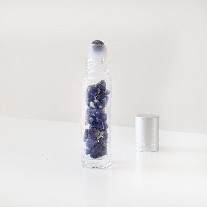 botella roll-on de sodalita