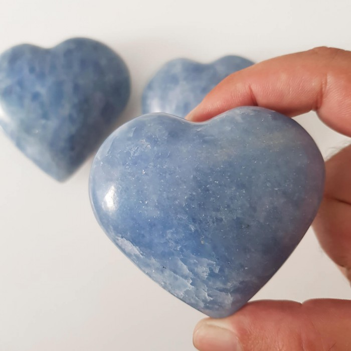 corazón de calcita grande