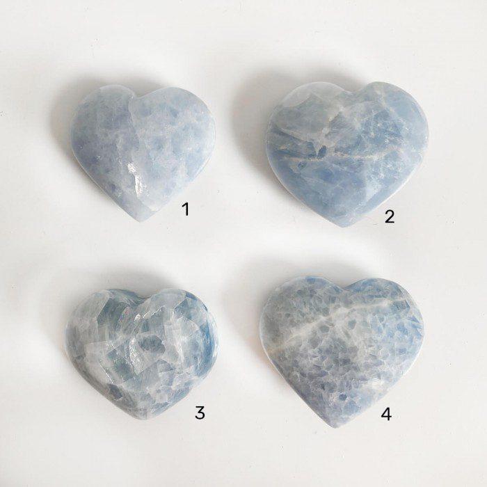 corazón de calcita mediano marynelis