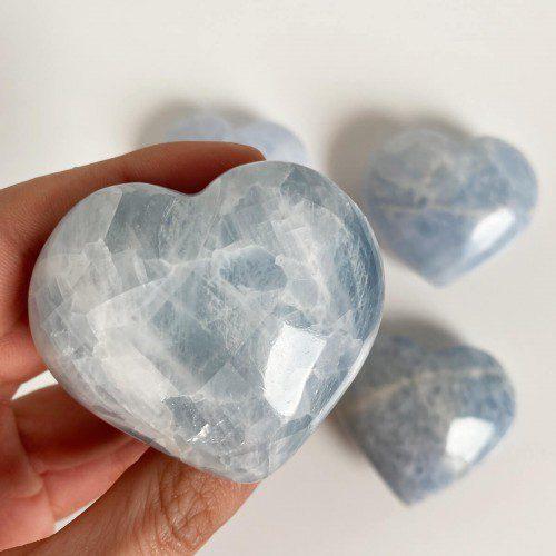 corazón de calcita mediano