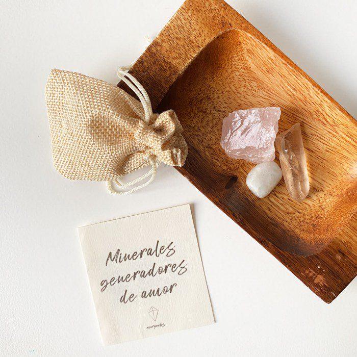 minerales para el amor