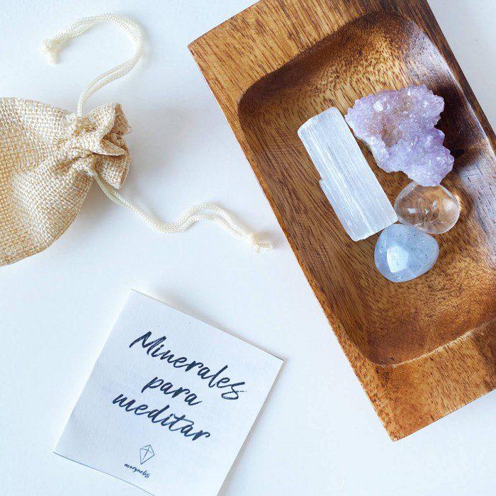 minerales para meditar