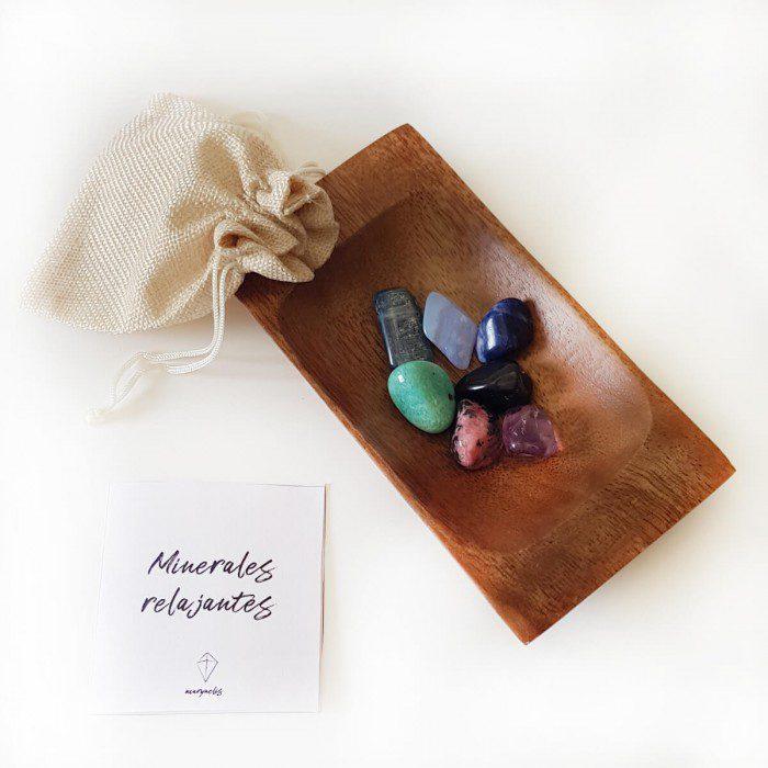 minerales para relajarse