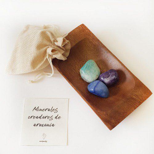 minerales para crear armonía