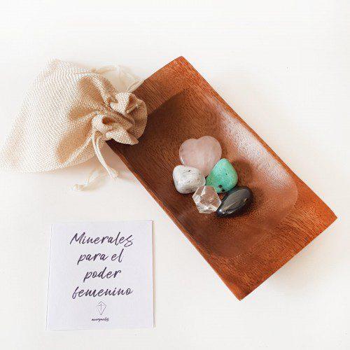 minerales para el poder femenino