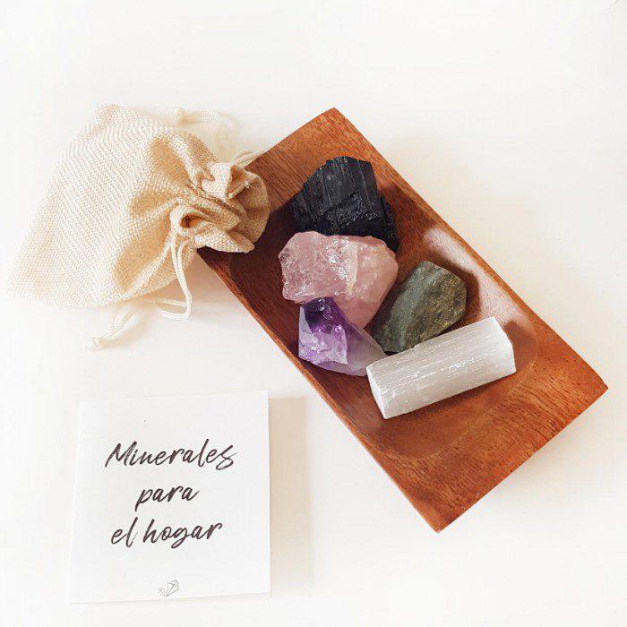 minerales para el hogar