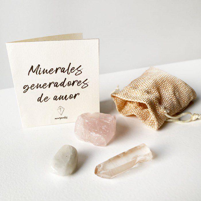 pack minerales para el amor