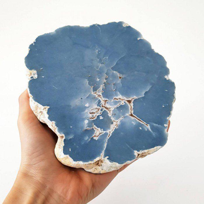 angelita azul semipulida