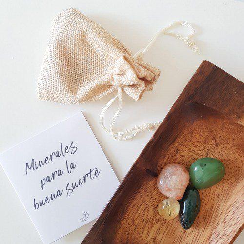 minerales para la buena suerte