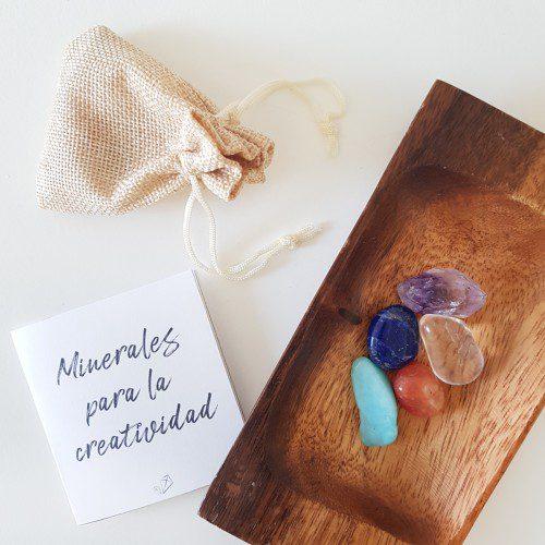 minerales para la creatividad