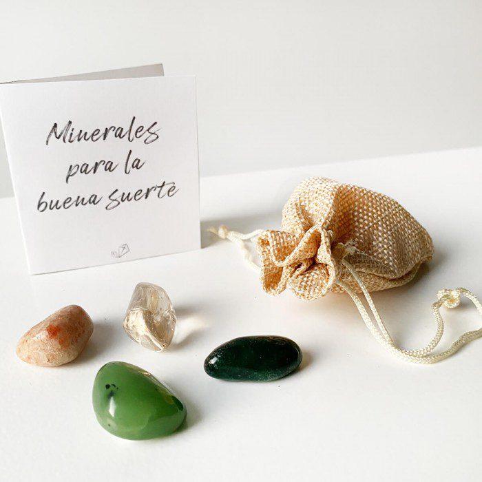 minerales para la suerte