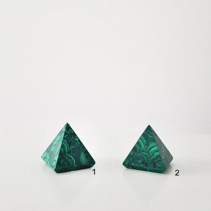 pirámide de malaquita