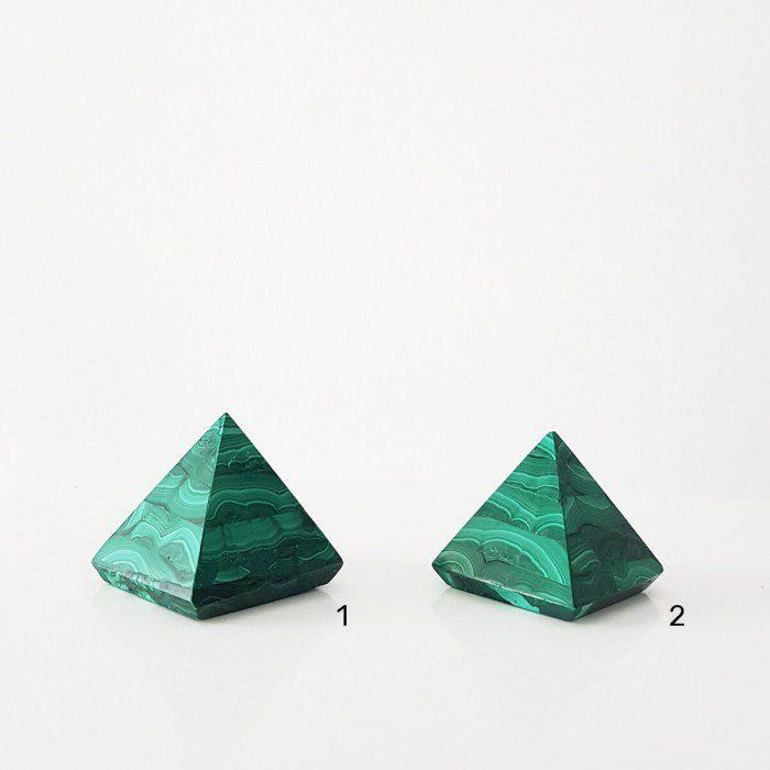 pirámide de malaquita seleccion