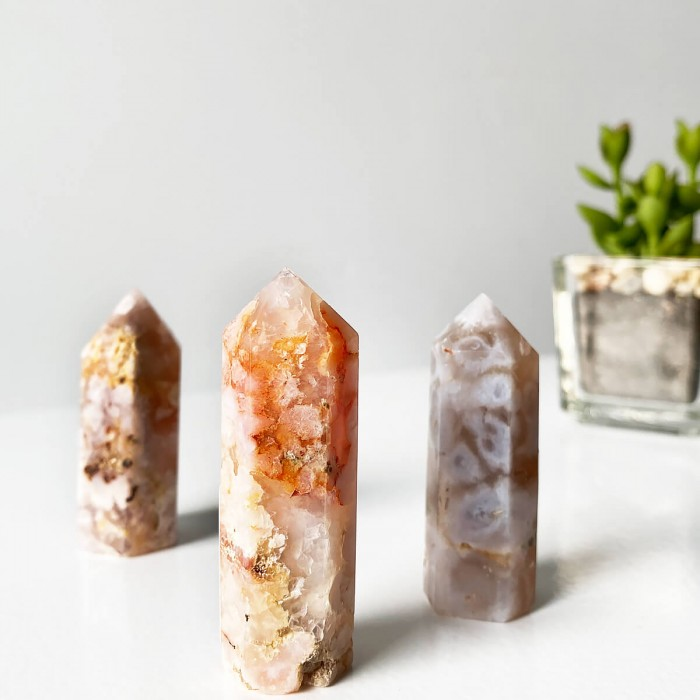 punta de ágata sakura mini