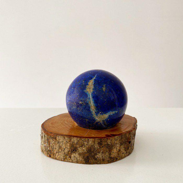 esfera de lapislázuli extra grande