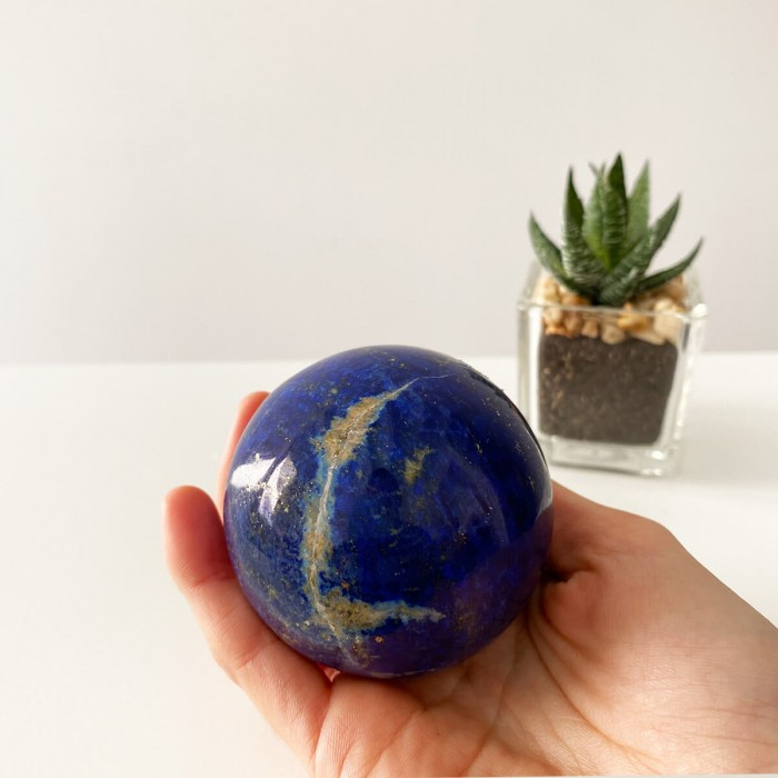 esfera de lapislázuli grande extra