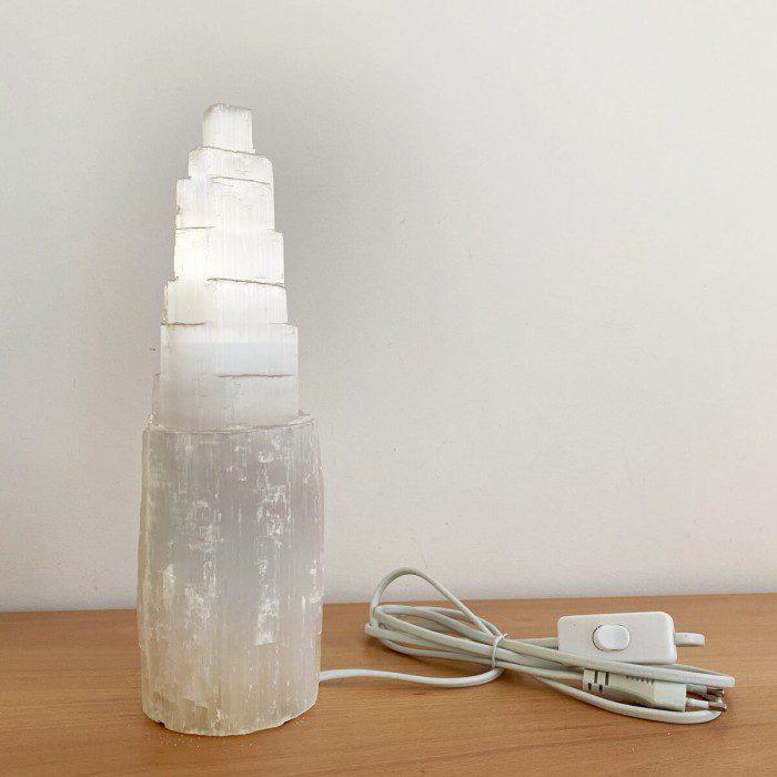lámpara de selenita grande marynelis