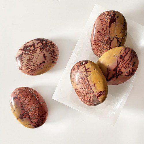 Rodado de jaspe mookaita