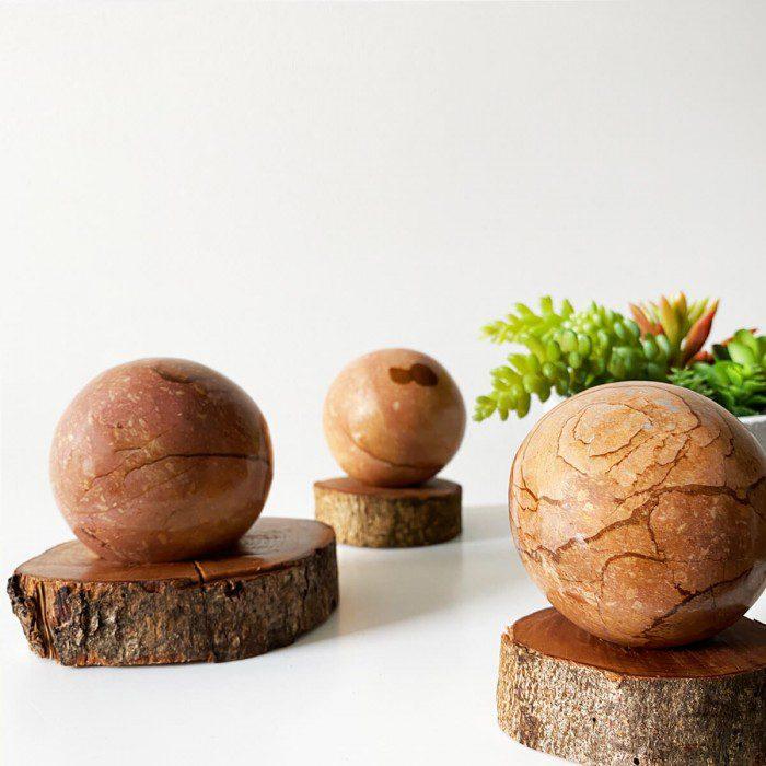 esfera de jaspe mookaita