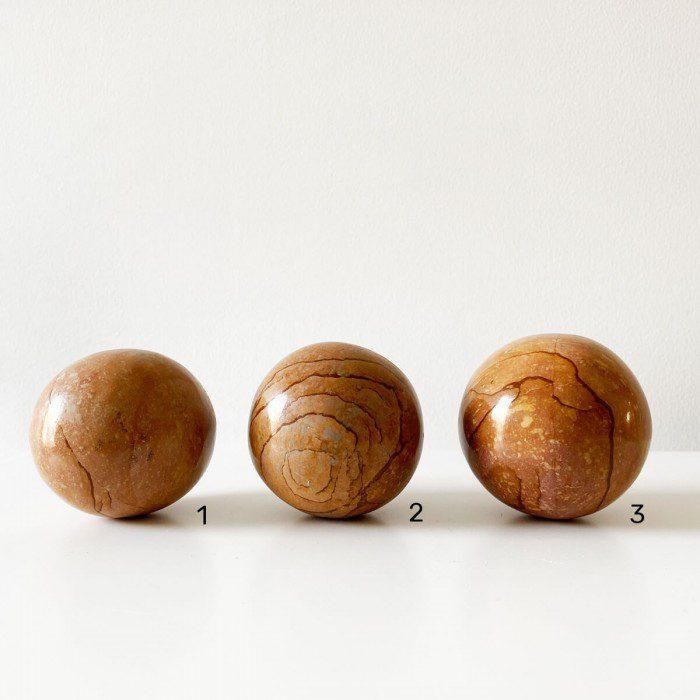 esfera de mokaita
