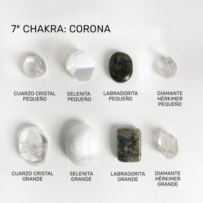 minerales para el chakra corona