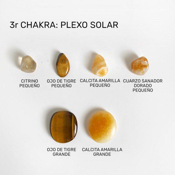 minerales para el chakra plexo solar