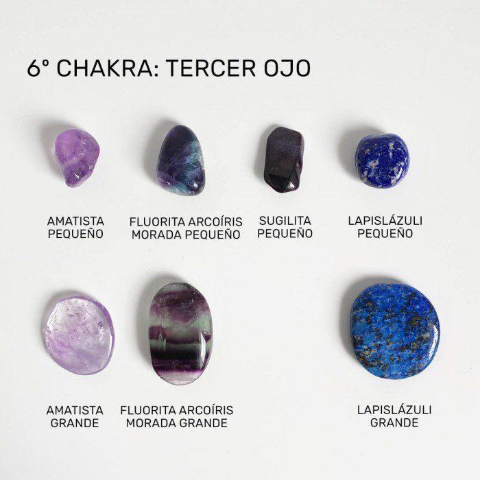 minerales para el chakra tercer ojo