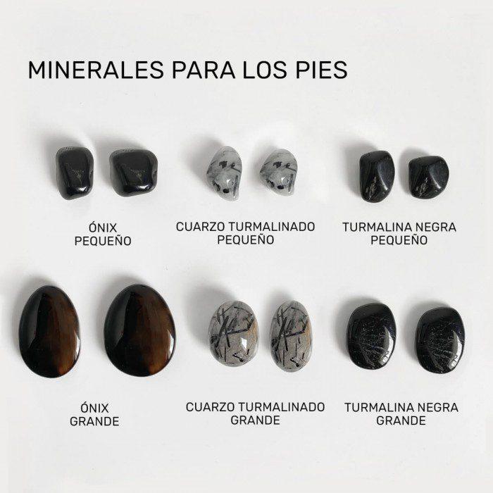 minerales para los pies