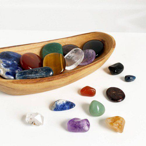 pack de minerales para los chakras