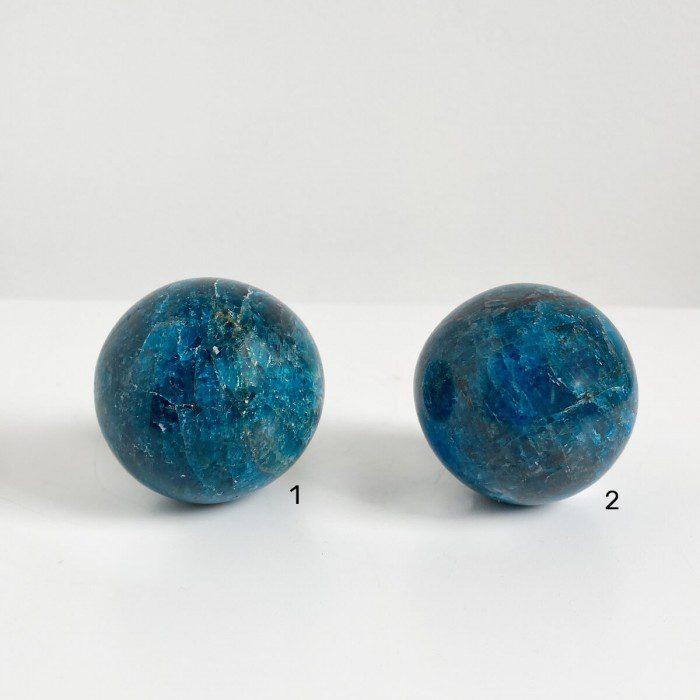 esferas de apatito