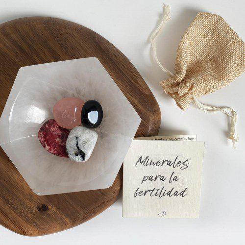minerales para la fertilidad