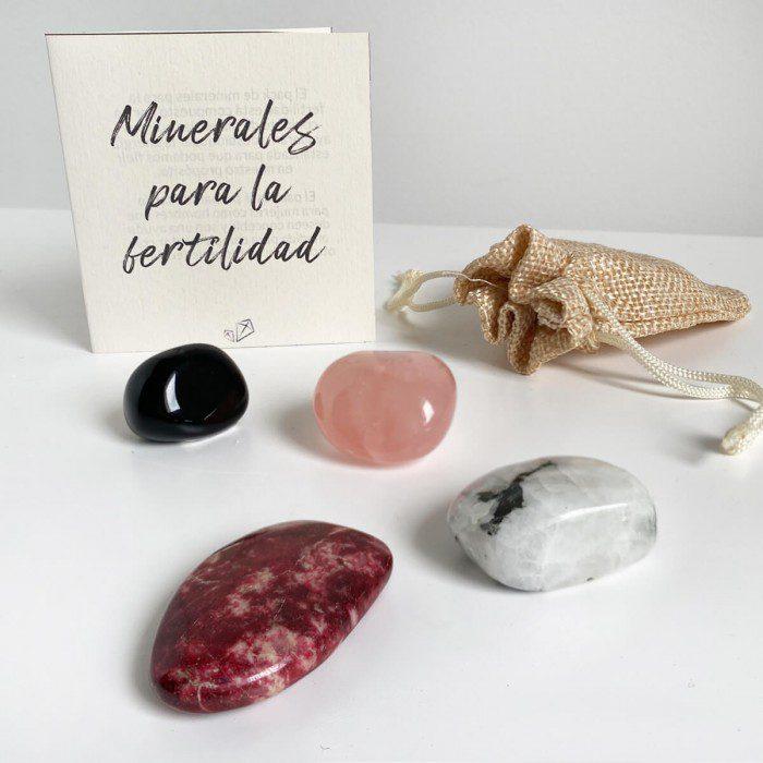 minerales para potenciar la fertildiad