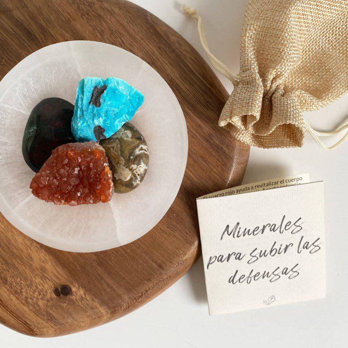 minerales para subir las defensas