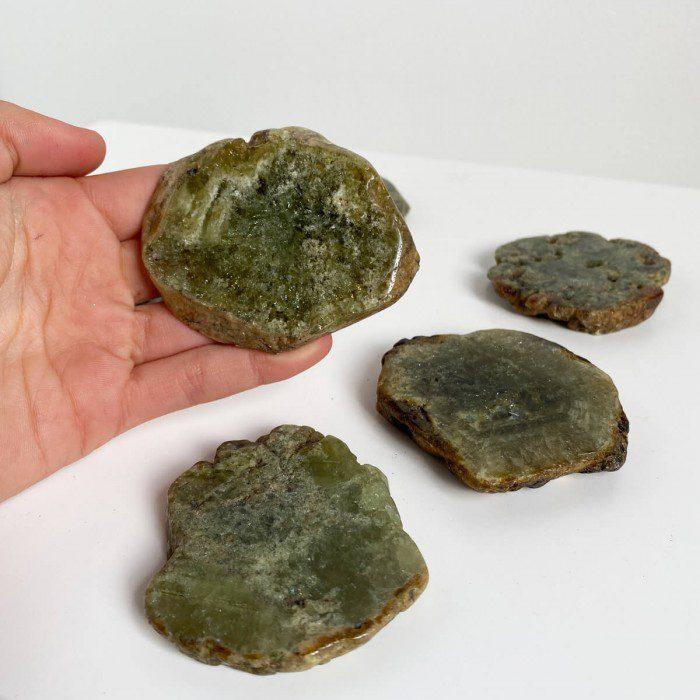 placa de granate verde