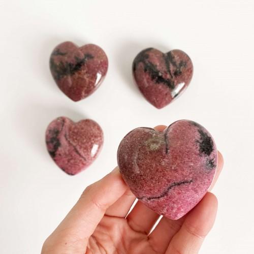 Corazón de rodonita