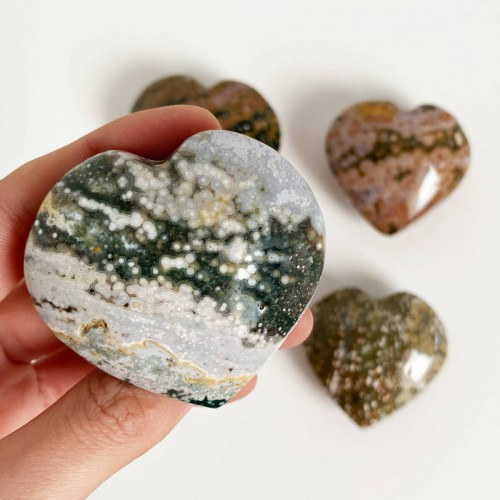corazón de jaspe oceánico