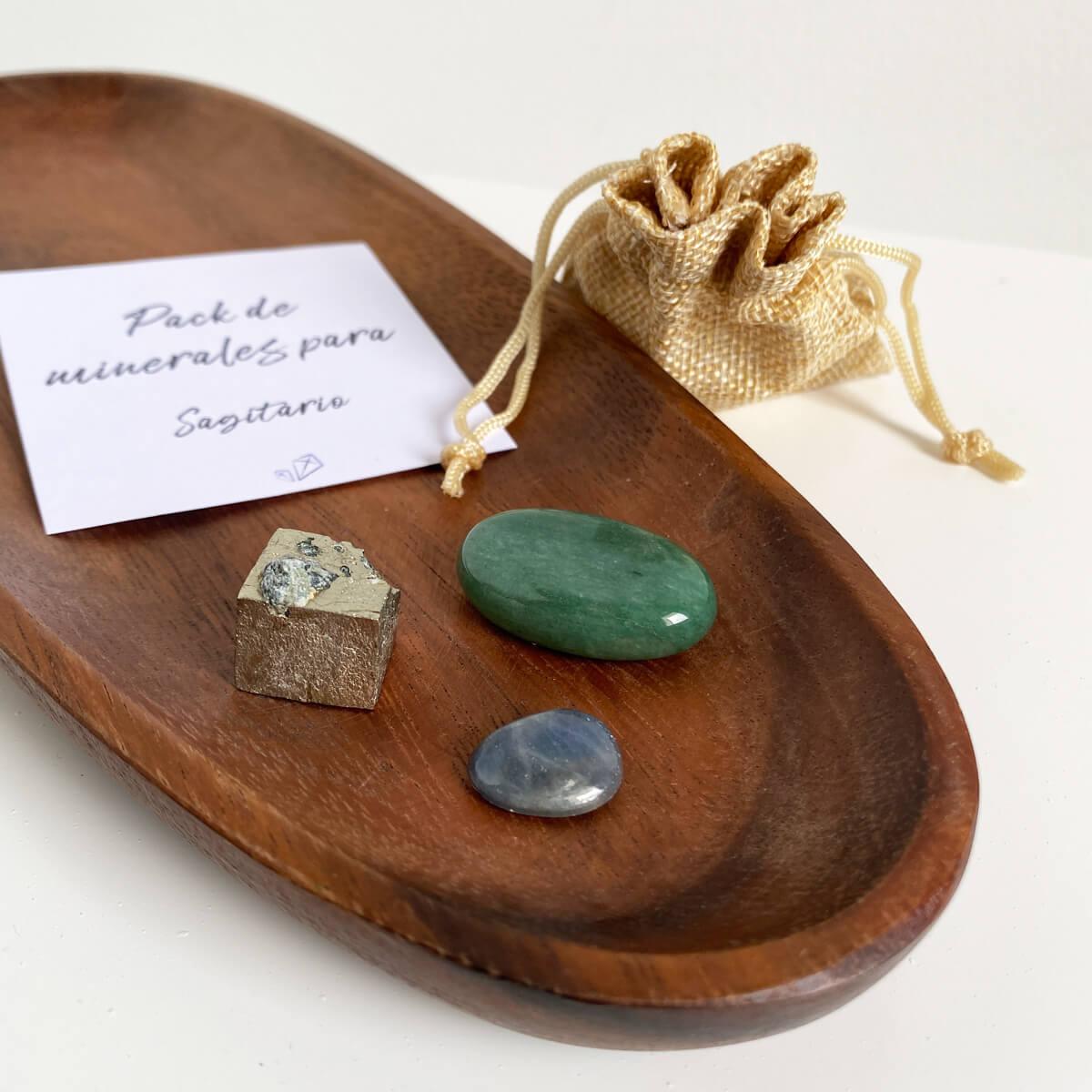 minerales para sagitario