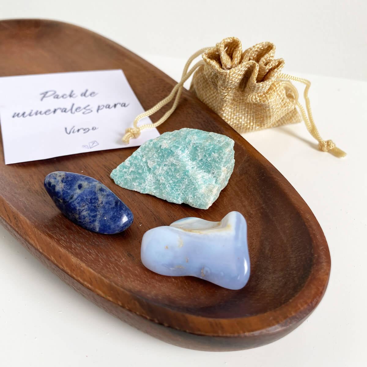 minerales para virgo
