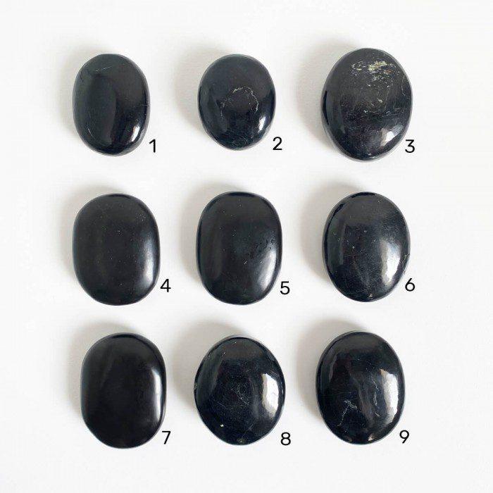 rodados de turmalina negra grande