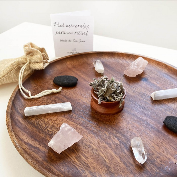 pack de minerales para ritual