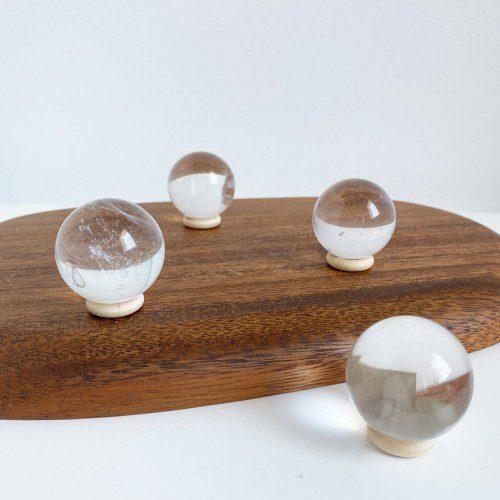esfera de cuarzo cristal