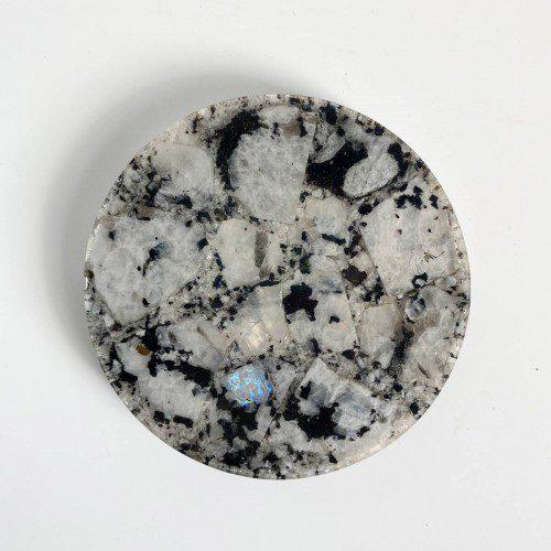 placa de piedra luna